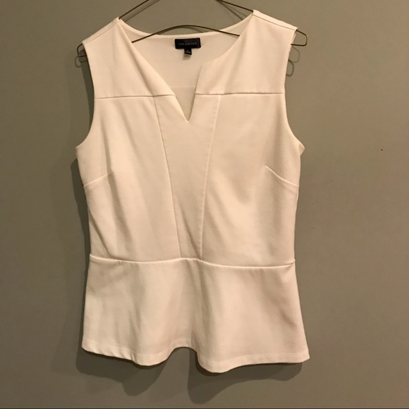 Tops - Limited White Dress Tank, Work Staple, Worn Once